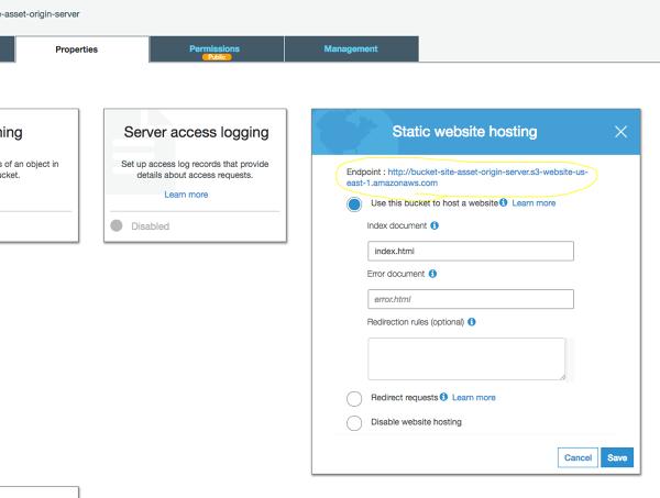 Dynamic Image resizing using Amazon S3, AWS lambda, Amazon API